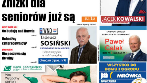 Numer 40 Gazety Nowodworskiej już w sprzedaży