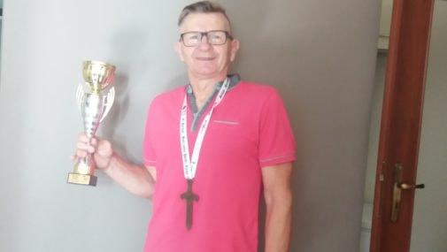 W Mistrzostwach Polski zdobył brąz
