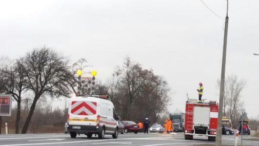 Wypadek przy Orlenie