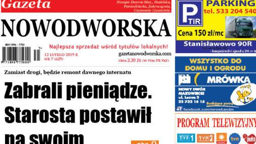 Numer 7 Gazety Nowodworskiej już w sprzedaży