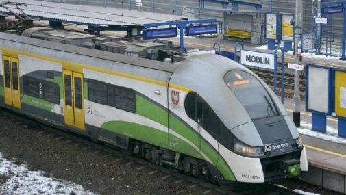 Do pociągu z przeszkodami
