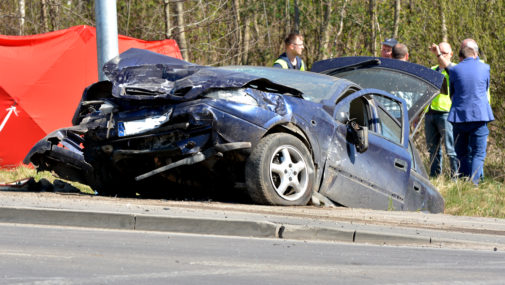 Tragiczny wypadek w Siennicy