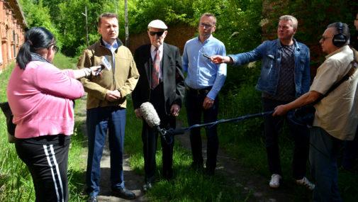 Minister odwiedził Fort III w Pomiechówku