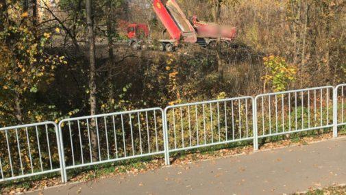 Kazuń Nowy: Policjanci ujawnili nielegalne wysypisko śmieci