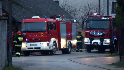 Czarnowo: Pożar w budynku mieszkalnym