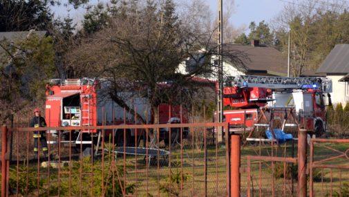 Stare Grochale: Pożar poddasza w domu jednorodzinnym