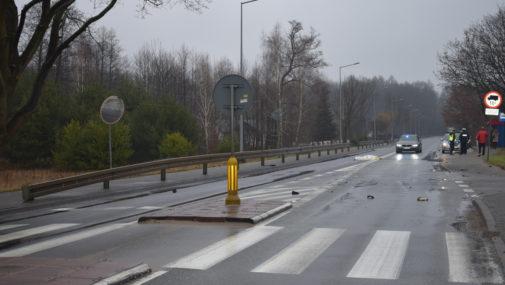 Policja poszukuje świadków wypadku w Cybulicach Małych