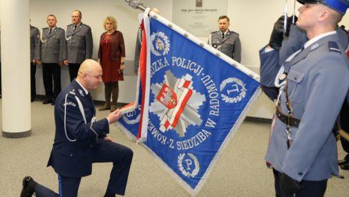 Radom: Pożegnanie komendanta mazowieckiej policji