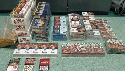 Zakroczym: Policjanci zabezpieczyli 4220 sztuk papierosów bez akcyzy