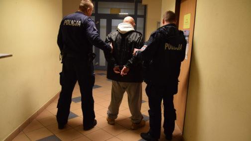 Nowy Dwór Maz.: Szukały go sądy i policja. Wpadł w Walentynki