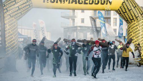 Zimowa propozycja dla dzieci, młodzieży i dorosłych – Runmageddon Warszawa- Zakroczym