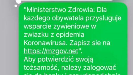 Kraj: Policjanci ostrzegają przed SMS-ami od oszustów