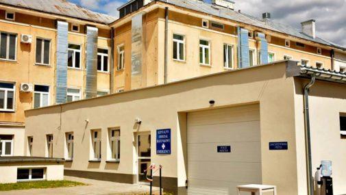Nowy Dwór Maz.: Ewakuacja oddziału wewnętrznego szpitala