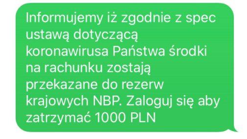 Kraj: PKO Bank Polski ostrzega przed falszywymi wiadomościami