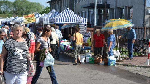Nowy Dwór Maz.: Przywrócony handel art. spożywczymi i higienicznymi na targowiskach miejskich nr 1 i 3