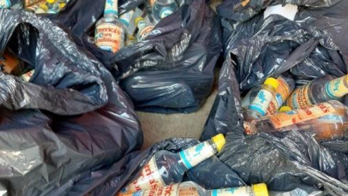 Powiat: Policja przekazała spirytus Nowodworskiemu Centrum Medycznemu