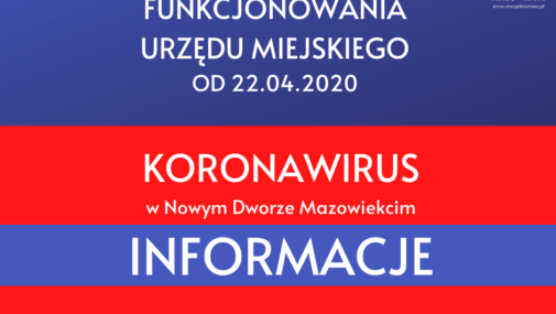 Nowy Dwór Maz.: Zmiany w funkcjonowaniu Urzędu Miejskiego