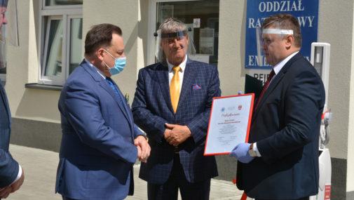 Nowy Dwór Maz. Podpisano umowę na rozbudowę szpitala. NCM dostało nowoczesny aparat rentgenowski