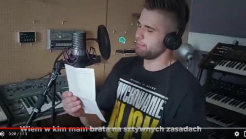Kultura: Areczek WDR podjął wyzwanie #Hot16Challenge