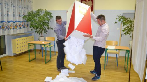 Nowy Dwór Maz.: Wstępne wyniki I tury wyborów prezydenckich