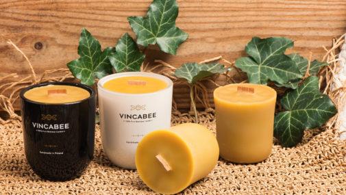 Świece ręcznie robione z wosku pszczelego, czyli modne i naturalne dekoracje do wnętrz